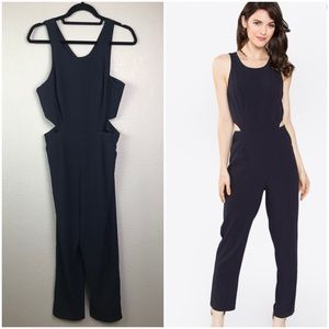 Sugarlips Small Black Cutouts Jumpsuit